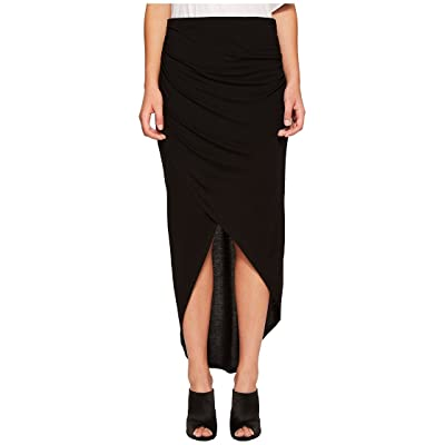 1.STATE Womens Wrap Front High-Low Skirt