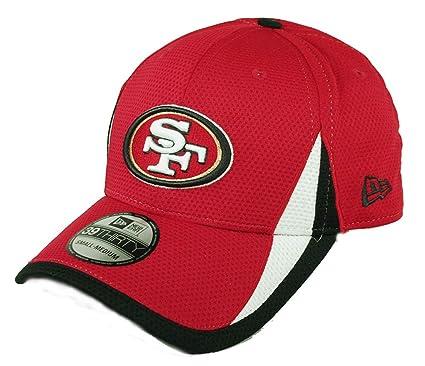 san francisco aef39 a9420 NFL San Francisco 49Ers Team Color Training 39THIRTY Cap, Small