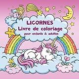 licornes livre de coloriage pour enfants et adultes bonus coloriage licornes gratuites pdf pour imprimer french edition