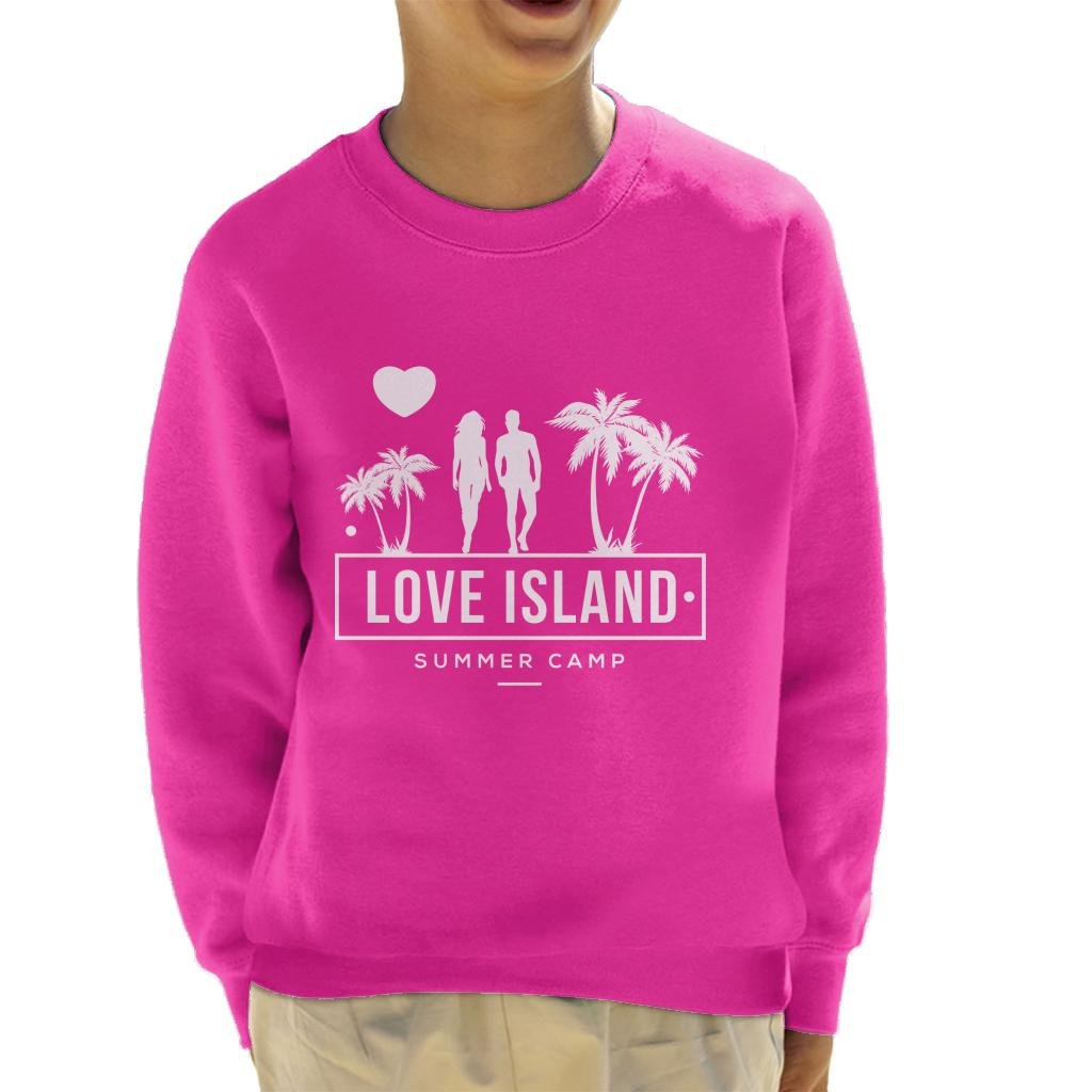 Love Island Summer Camp 2018 Kid's Sweatshirt