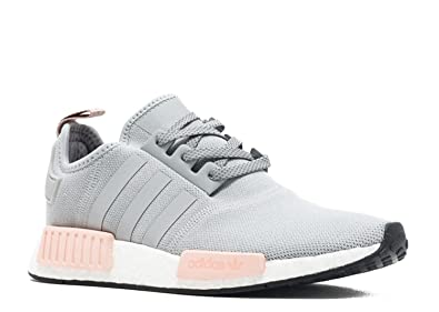 innovative design 286c4 c6f9b Image Unavailable. Image not available for. Colour  adidas NMD R1 Womens  Offspring By3058 Clear Onix Light Pink ...