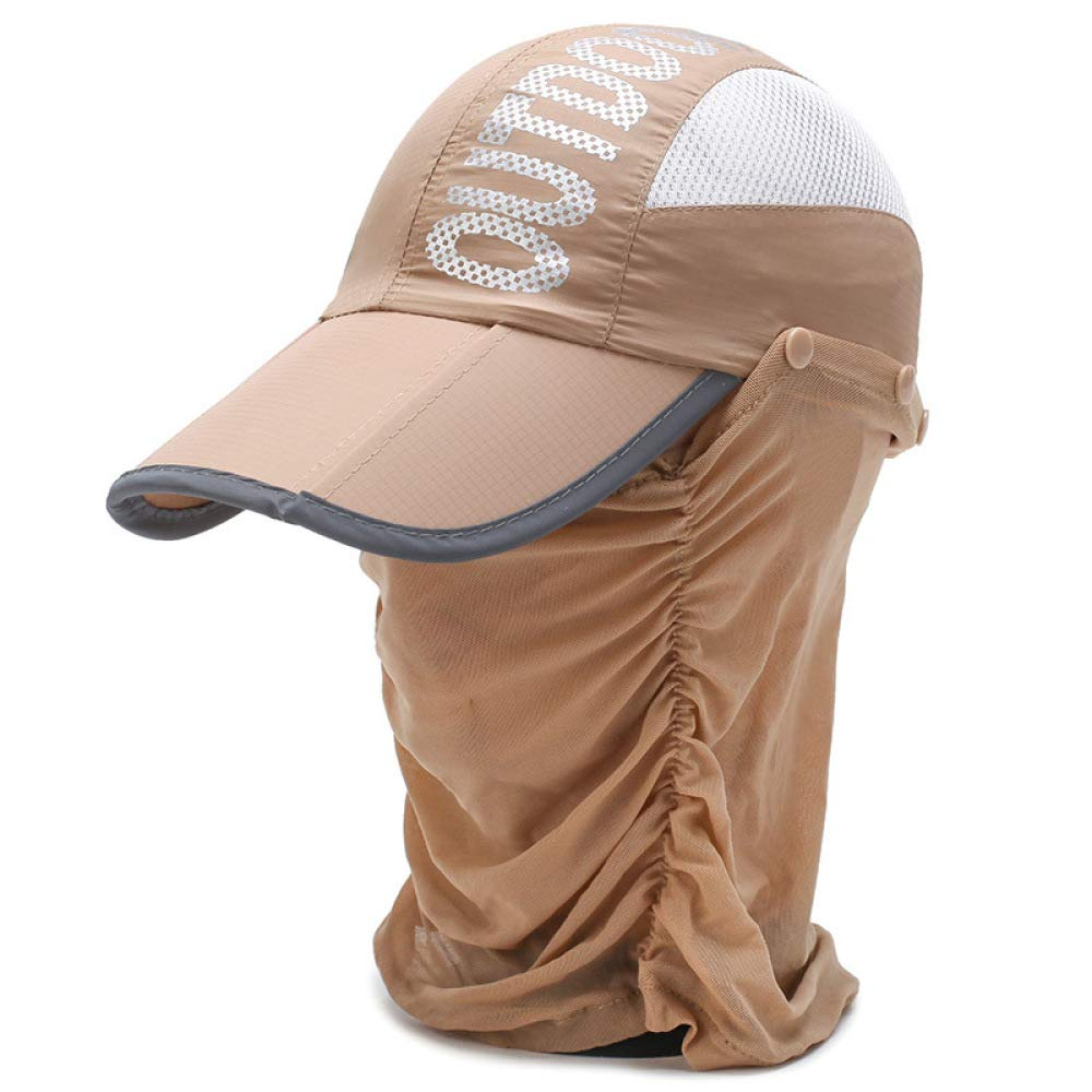 Gorra de béisbol Plegable portátil al Aire Libre de Verano: Amazon ...