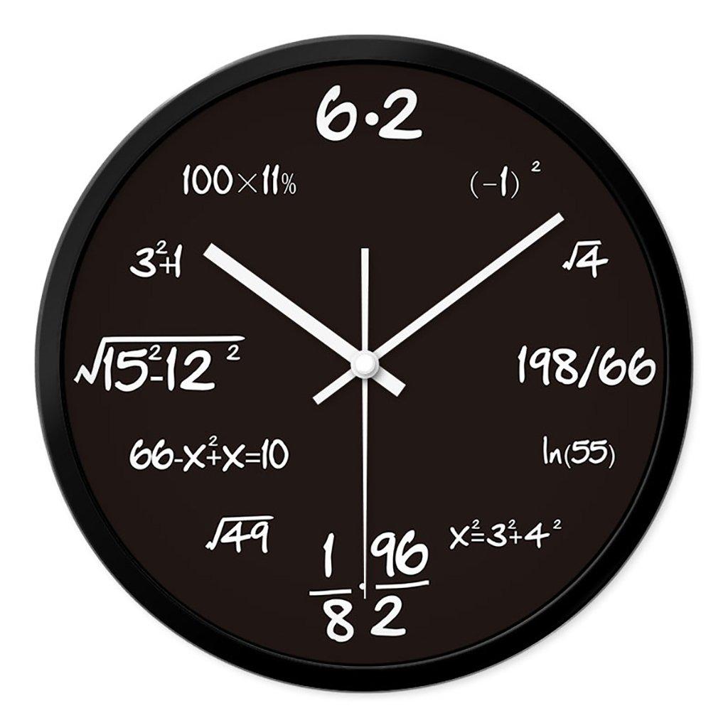 リビングルームクリエイティブ現代のクォーツ時計のベッドルーム静かなパーソナライズされたシンプルなファッションウォールクロック (色 : 1, サイズ さいず : S s) B07FPXS5JX S s|1 1 S s