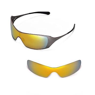 fb193ebb04 Walleva Replacement Lenses for Oakley Dart Sunglasses (24K Gold - Polarized)