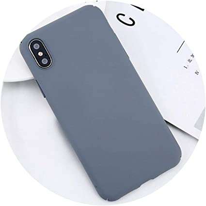 Amazon.com: Funda para iPhone X Xs Max XR 8 7 simple simple ...