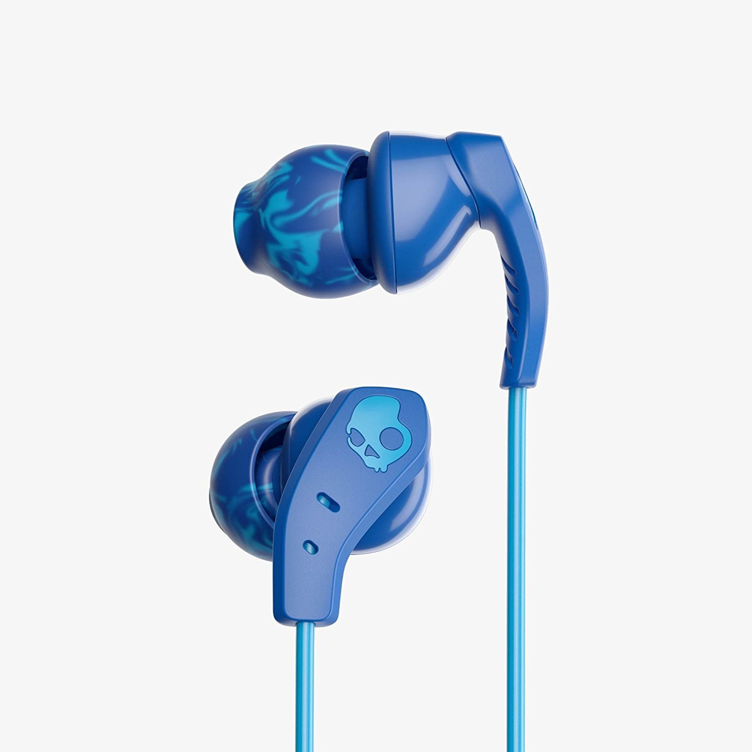 428cfeddd63 Skullcandy Method Sweat Resistant Sport Earbud with In-Line Microphone and  Remote, Lightweight and Secure In-Ear Fit for Running and Exercise, ...