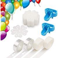 Coogam Balloon Decorating Strip Kit for Arch Garland 32Ft Balloon Tape Strip, 2 Pcs Tying Tool, 200 Dot Glue, 20 Ballon…