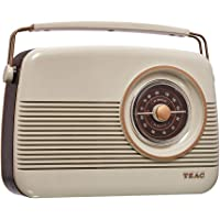 TEAC Retro DAB+ Digital Radio with AM/FM   LCD Display  Preset Stations