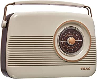 TEAC Retro DAB+ Digital Radio with AM/FM | LCD Display| Preset Stations