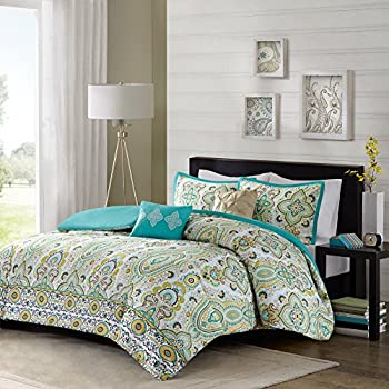 Amazon Com Intelligent Design Tasia Duvet Cover Full