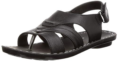 BATA Men's Dunkin Sd Black Sandals-6 UK