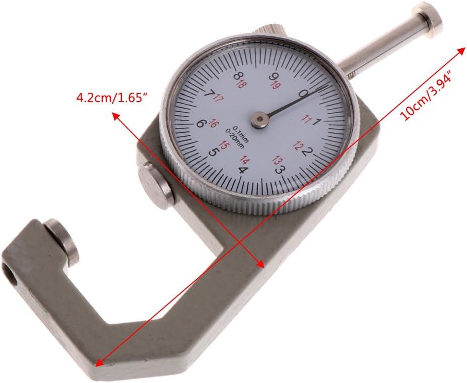 calibre 0,1 Calibre Vernier de 0 a 20 mm regla de grosor herramienta para medir joyas