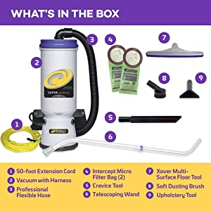 best backpack vacuum cleaner reviews