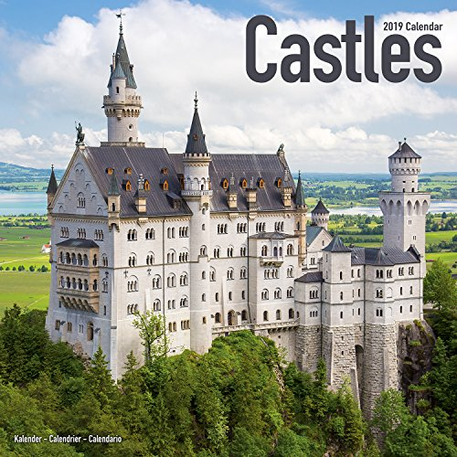 Castle Calendar - Calendars 2018 - 2019 Wall Calendars - Photo Calendar - Castles 16 Month Wall Calendar by Avonside