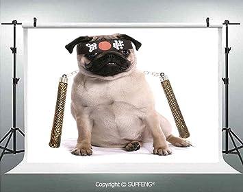 Fondo Ninja Puppy con Nunchuk Karate Dog Eastern Warrior ...