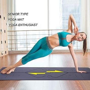 XXF Yoga Mat, Caucho Natural Eco Friendly Antideslizante ...