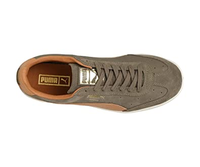 b83b5e0cb2a5 Puma Unisex s Madrid Tanned Green Leather Sneakers-12 UK India (47 ...