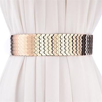 SAIBANGZI - Cinturón de Cintura para Mujer con cinturón Ancho 42ecc5cab8f3