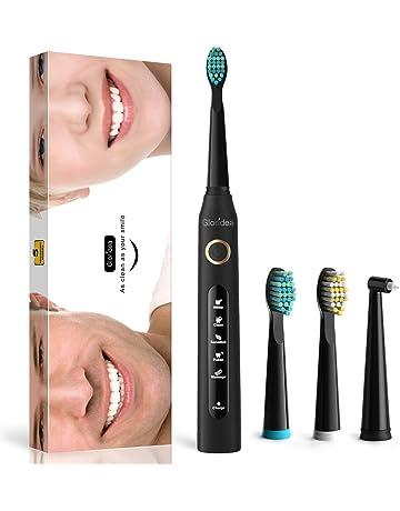 Cepillo de dientes eléctricos recargable con Tecnología Sónicos - 5 Modos 3 cabezales de recambio,