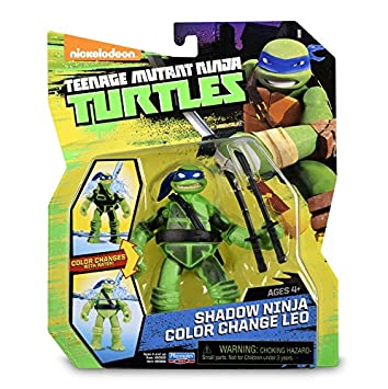 Tortugas Ninja - Animation Blister - Color Change Leo ...