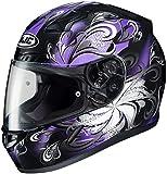 HJC Cosmos Womens CL-17 Street Bike Motorcycle Helmet - MC-11/Large