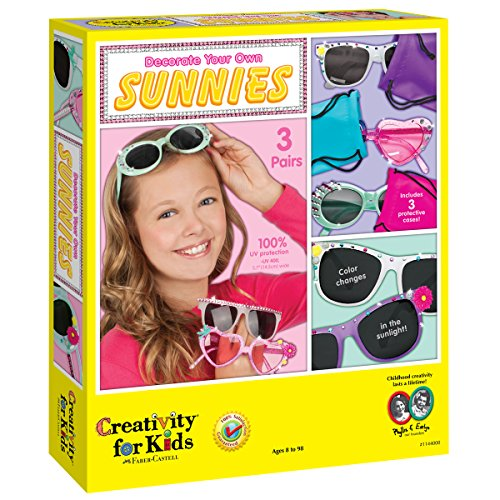 Creativity for Kids Decorate Your Own Sunnies - Decorate 3 - Own Create Sunglasses