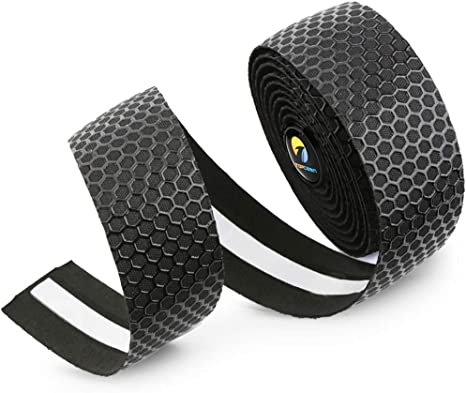 TOPCABIN® Camouflage Series Comfort GEL Road Bike Handlebar Tape Bike Bar Tape a