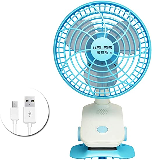 Ventilador de carga de escritorio mini USB, Fan silenciosa ...