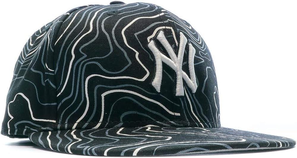 Berretto da Baseball New Era 59Fifty Contour Crown Neyyan black white