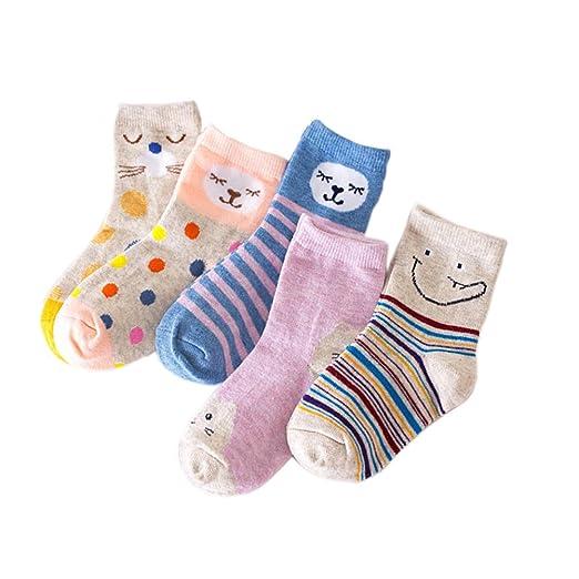 e59a213cad77 Amazon.com  Kids Girls Socks Unisex Children socks