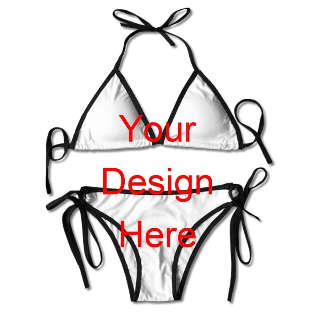 5395ab7fd0598 Amazon.com  Custom Bathing Suits Custom Swimsuits Ladies Bathing Suits Push  Up Bathing Suits Beachwear Women Bikini Swimsuit  Clothing