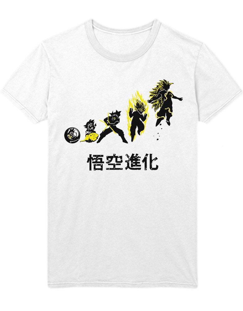 Hypeshirt T-Shirt Dragonball Son Goku Transformation Steps C500008:  Amazon.de: Bekleidung