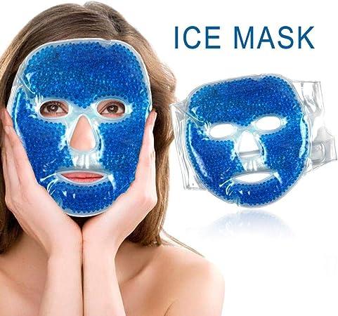 masque gel facial rafraichissant pour visage