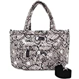 Marc by Marc Jacobs Crosby Nylon Quilted Diaper Bag (Grey Floral)