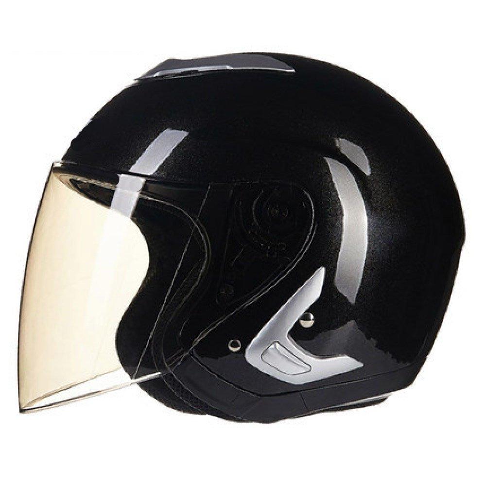 RAQ Sturzhelm im Freienart- und weisehelm ABS-Leichtgewichtler-Motorrad-Fahrrad-Sturzhelm-Sonnenschutzsicherheitsatmungsaktiver vierjahreszeiten-Sturzhelm (Farbe   B, größe   XXL(61-62CM))