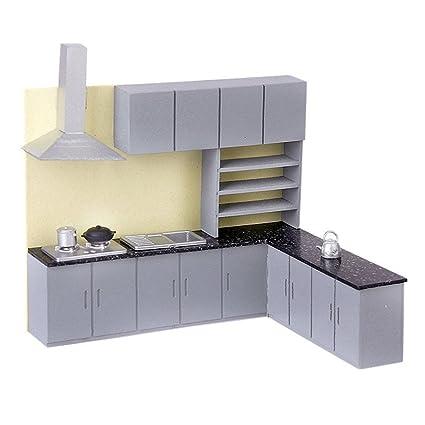 Amazon.com: Simulation Kitchen Cabinet - TOOGOO(R)Simulation ...