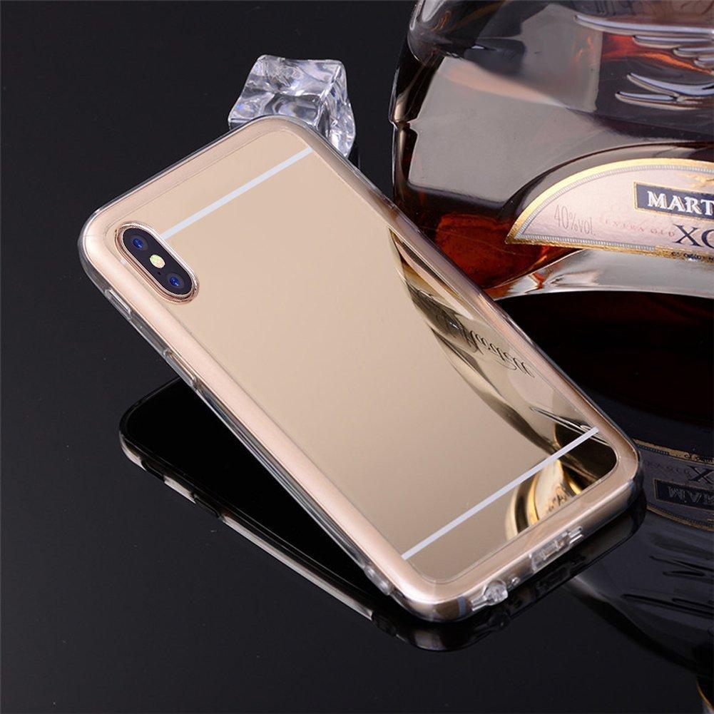 brand new 529a6 e0d6c Amazon.com: PHEZEN iPhone X Case,iPhone 10 Case, iPhone X Mirror ...