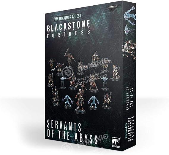 Games Workshop Warhammer Quest Blackstone Fortaleza - Sirvientes del Abismo: Amazon.es: Juguetes y juegos