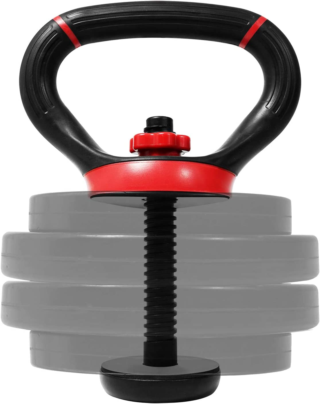 Yes4All Adjustable Kettlebell Grip for Dumbbell and Handle for Plates