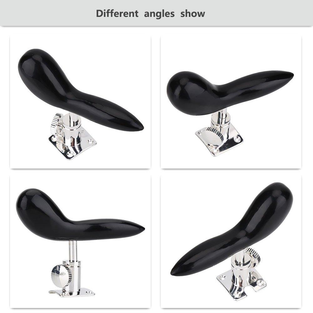 VGEBY1 Hand Holder Saddle Rest, Fine Workmanship Saddle Rest with Screws Base Mount Tools for Bassoon by VGEBY1 (Image #3)