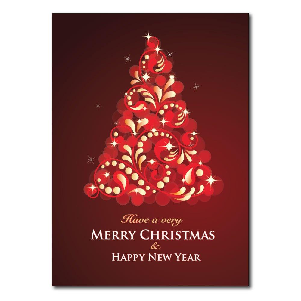 Amazon Christmas Holiday Greeting Card H1602 A Vibrant