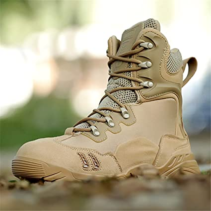 32d5ad4a897a6 Amazon.com : DengSha Winter Hiking Boots Men Tactical Combat Sneaker ...