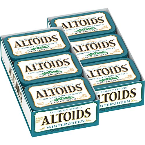 Altoids Curiously Strong Mint, 1.76-Ounce Tins (Pack of 12)