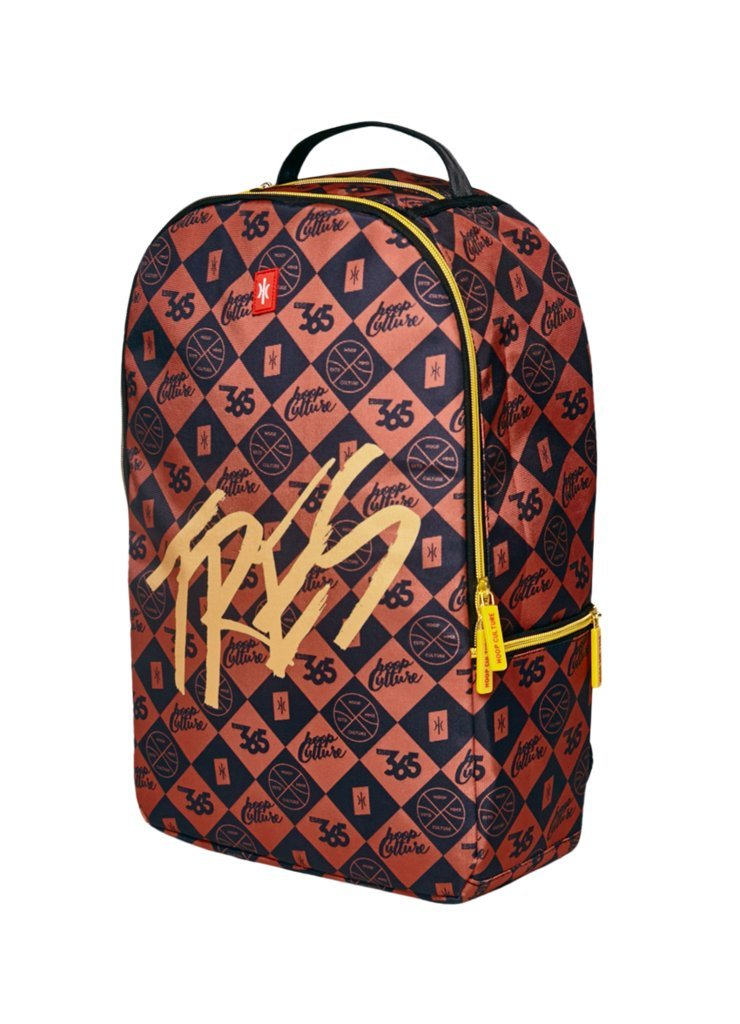 Hoop Culture - Tres CLTR Backpack - Men Women and Kids Fashion Bag - Checkered