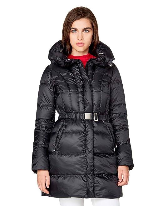 cappotto benetton donna nero 42