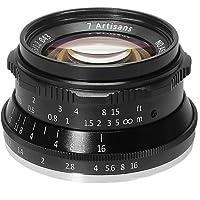 7artisans 35mm F1.2 APS-C Obiettivo di messa a fuoco manuale Ampiamente adatto per telecamere con attacco M4 / 3 Panasonic G1 G2 G3 G4 G5 G6 G7 GF1 GF2 GF3 GF5 GF6 GM1 Olympus EMP1 EPM2 E-PL1 E-PL2 E-PL3 E-PL5