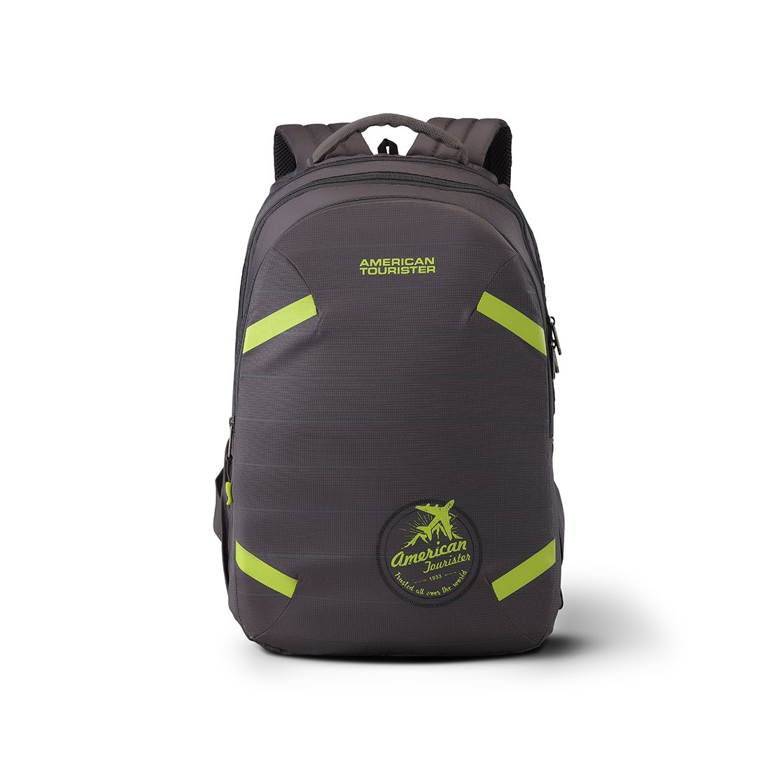 American Tourister Alto 31.5 Ltrs Grey Casual Backpack (Fh8 (0) 08 001)