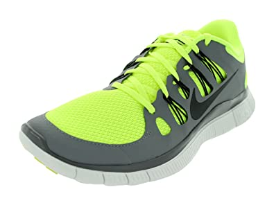 Nike Mens Free 5.0+ Breathe Running VoltBlackCool GreySmmt Wht