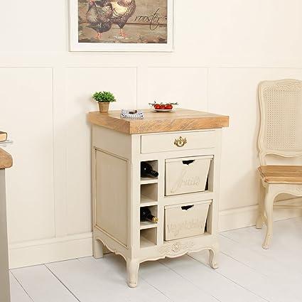"""Amberley francés Chopping Block vino accesorio de verduras fruta Gabinete cajones – increíble,"