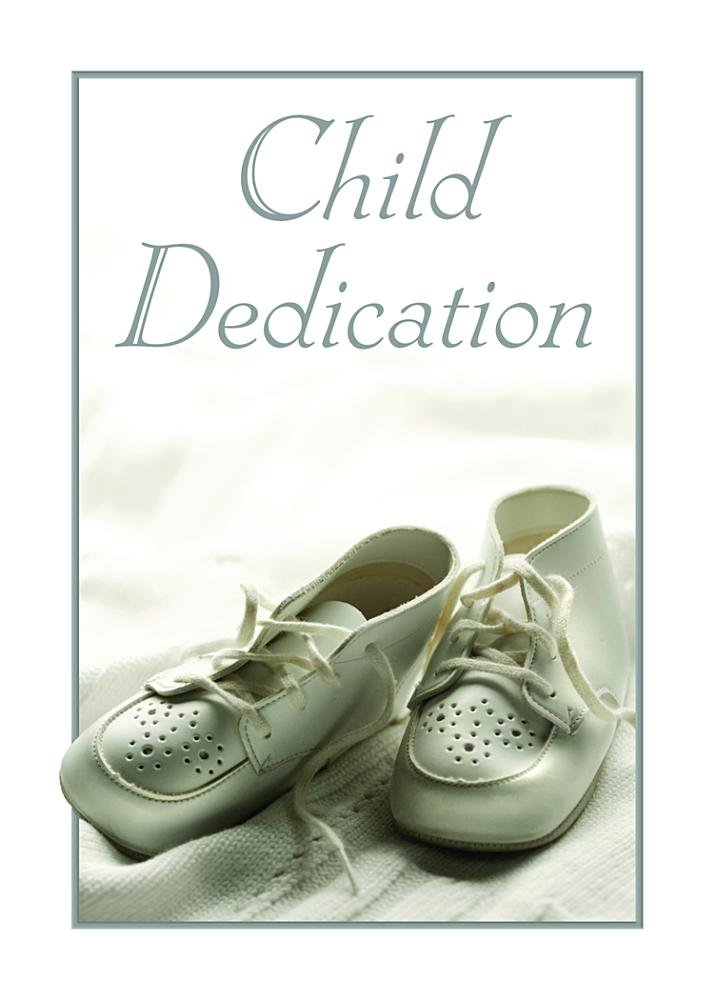 Amazon Baby Dedication Certificate Pk Of 6 5x7 Folded